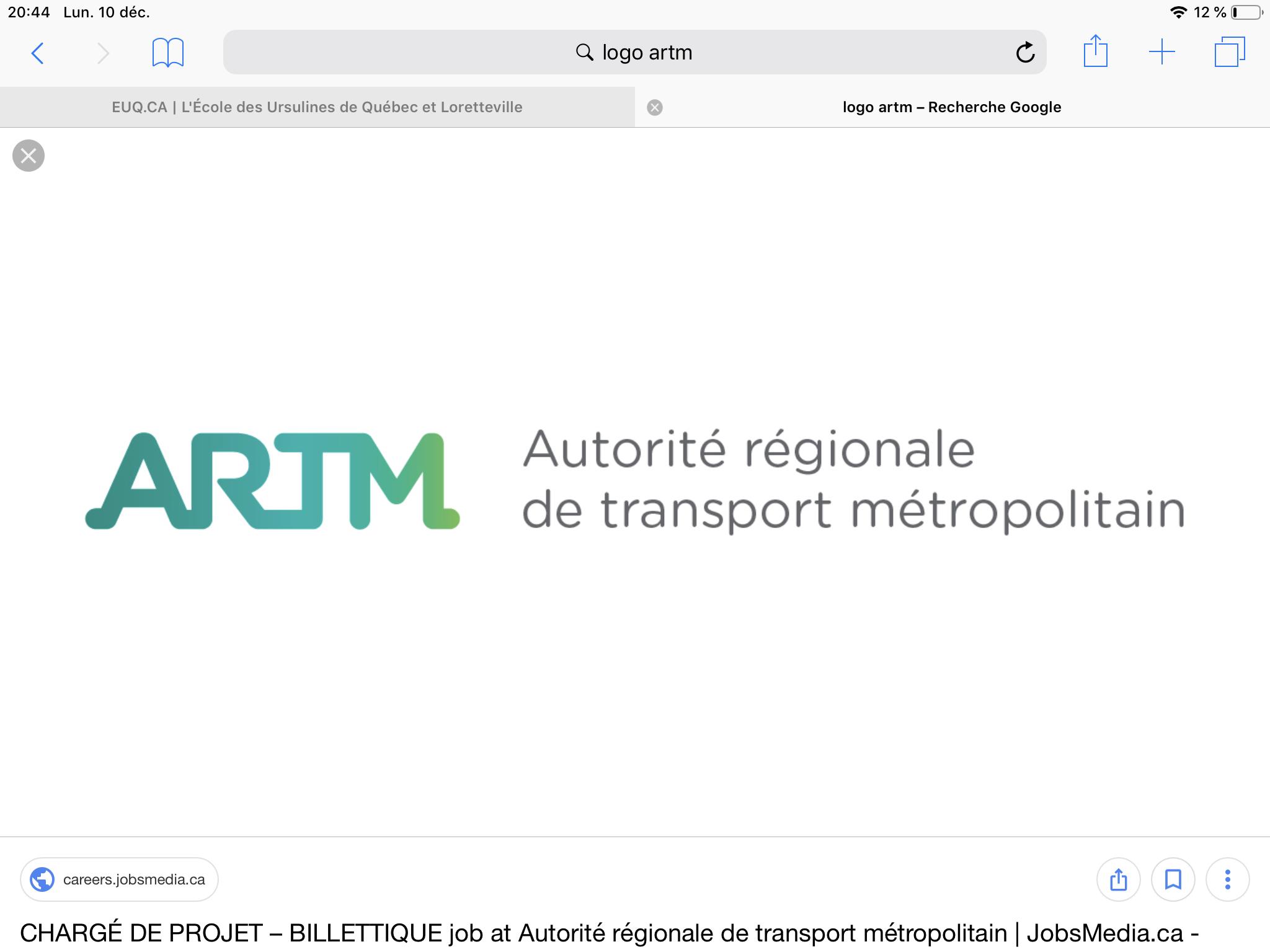 Agence Régionale de Transport Métropolitain